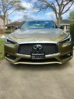 2017 Infiniti Q60 RED SPORT 400 2017 Infiniti Q60 Coupe Yellow RWD Automatic RED SPORT 400