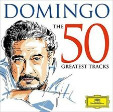 PLACIDO DOMINGO - DOMINGO-THE 50 GREATEST TRACKS 2 CD NEW+ PUCCINI/VERDI/BIZET
