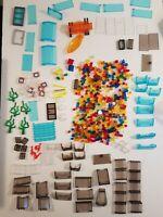 Fabulous Lot Of 13oz Lego Bricks/Blocks - Clear/Translucent Pieces Of All Kinds!