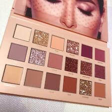 HUDA BEAUTY 18 Couleurs Palette Fard Ombre à Paupières Mat Eyeshadow Maquillage