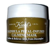 Kiehl's Calendula Petal-Infused Calming Mask .5 Oz/ 14 ml New, Travel Size