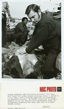 ED MCFALL AL KNIGHT PARAMEDICS GO FIREMEN LAFD ORIGINAL 1974 NBC TV PHOTO