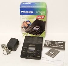 PANASONIC KX-TM150B DIGITAL MESSAGING SYSTEM ANSWERING MACHINE BLACK TESTED WORK