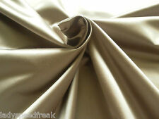 Harlequin Curtain Fabric TEMBOK SATIN 1.6m Mink Plain Satin Design 160cm