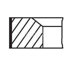 MAHLE ORIGINAL Piston Ring Kit Piston Ring Kit 001 RS 00111 0N0