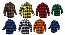 Flannel S Long Sleeve Regular Size Casual Shirts for Men