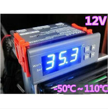 Blue Digital 12V LCD Thermostat Temperature Regulator Controller Meter Aquarium