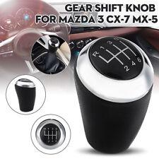 6 Speed Car Manual Gear Shift Knob For Mazda 3 5 6 Series CX-7 MX-5 CX7 MX5 New