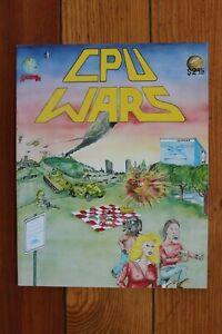 CPU Wars Early Computer Hacker Culture Vintage 1980 Underground Huge 11x14 Comic