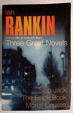 Ian Rankin St. Leonard's Years Rebus Novels 3-in1 PB: Jack, Book, Mortal