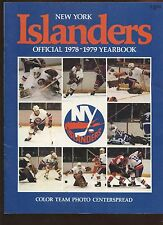 1978/1979 NHL Hockey New York Islanders Yearbook EX+