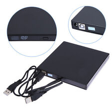 Slim Portable USB 2.0 External Optical DVD CD-RW Burner Writer Drive for PC MAC