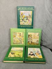 My Book House Vintage Lot Of 5 Hardcover Fairy Tales 1953