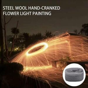 Steel Wool Firework Celebration Flame Fire-Trick Simulation New Year Party Hot