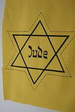 JEWISH JUDE JEW RELATED EX TV AND FILM PROP CHEST STAR DAVID BADGE COTTON