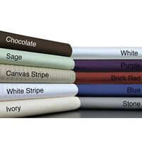 Branded Bedding Collection 1000 TC Egyptian Cotton Multi Colors AU Super King