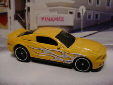 2015 FLASHFIRE Excl '10 SHELBY GT500 SUPERSNAKE∞Orange-Yellow☆LOOSE Hot Wheels