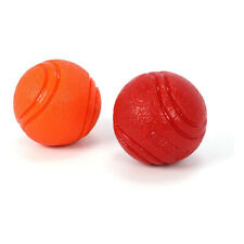 Dog Training Toy Fetch Solid Bite Pet Rubber Ball Chew Play Indestructible Usa