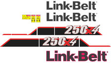 Link-Belt 250x4 Decal Kit. The most complete aftermarket kit available