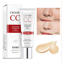EFERO CC Cream Cover Primer Concealer Makeup Moisturizing Base Face Foundation