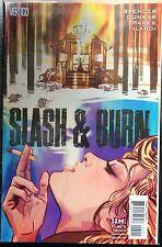 Slash et Burn #5 NM- 1er Imprimé Vertigo Bd