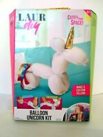 Mattel LAUR Diy Balloon Unicorn Custom Pillow Craft Kit - New Factory Sealed
