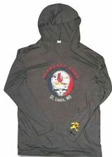 St Louis CARDINALS Grateful Dead Hoodie Hooded Pullover SGA 5/10 Large