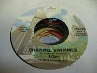Rock 45 10CC - Channel Swimmer / Im Not In Love on Mercury
