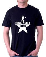 R0556 FLOSS LIKE A BOSS Gamers Gaming Fortnite Inspired T-shirt Gamer Tee