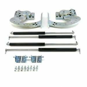 CLOSEOUT! 90 DEGREE UNIVERSAL LAMBO DOOR HINGE KIT DOOR KIT w/manual actuators