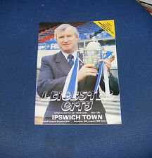 Leicester City -v- Ipswich Town  1980-1981
