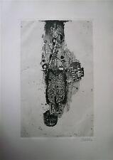FRIEDLAENDER Johnny gravure originale signée 1963 art abstrait abstraction