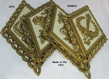 1971~Homco~Wall Plaques~Set of 4~ Later Called Home Interior