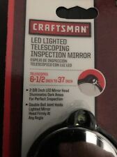 Craftsman 45047 LED Lighted Telescoping Inspection Mirror NEW Sealed Made In USA