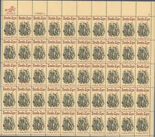 U.S.Scott #2010 Horatio Alger.Full Sheet 50-20c Mint Stamps