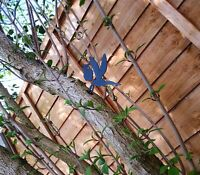 Pixie Flying Garden Silhouette Metal Fairy