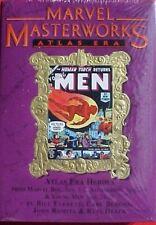 MARVEL MASTERWORKS VOL 73 Atlas Torch Young Men Gold Foil Variant HC 1st Print