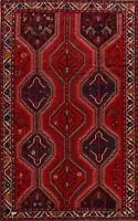 Tribal Hand-Knotted Lori Wool Area Rug 6x10 Vintage Geometric Oriental Carpet