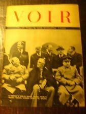 Revue photos - VOIR - Journal de Guerre - N° 23 - La Conférence de Crimée