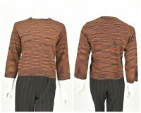 Womens M by Missoni Wool & Viscose Knitted Jumper Sweater Striped Size S