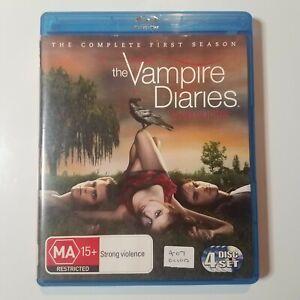 The Vampire Diaries: The Complete First Season   Blu-ray   Ian Somerhalder   PAL