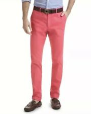 $165 Vineyard Vines Sailors Red Dyed Chino Trouser Pants Men's Size 40/32 NWT