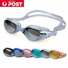 Adult Swimming Goggles Waterproof Anti-Fog Swim Glasses UV Shield Adjustable AU