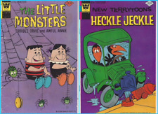 Two Comic Books - Heckle and Jeckle and The Little Monsters