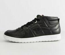 KangaROOS Full Court Mid Boot Leather Black White - 8UK 9US 42EU