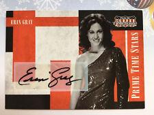 ERIN GRAY  2011 Panini Americana #8 Auto Autograph Signed ~ Buck Rogers 91/99
