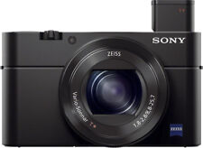 Sony - Cyber-shot RX100M III 20.1-Megapixel Digital Camera - Black