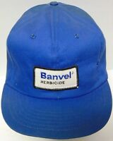 RARE Vtg 1980s BANVEL HERBICIDE FARM PATCH HAT SNAPBACK TRUCKER HAT MADE IN USA