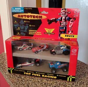 Vintage AUTOTECH KO Transformer GoBots MiB MEGA BRUTE Chevy SF Toymakers 94
