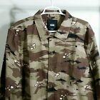Vans Camouflage Desert Camo Shirt Size Large